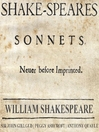 The Sonnets (MP3)